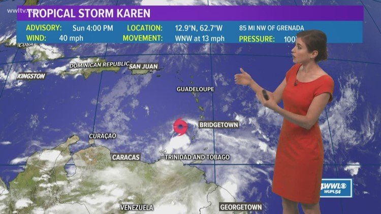 Tropics: Tracking tropical storms Karen and Jerry plus what could soon be Lorenzo