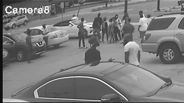 Surveillance camera captures double homicide in New Orleans East
