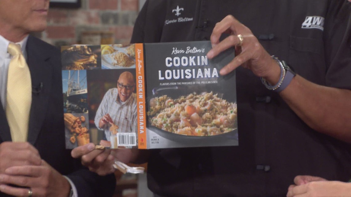 Chef Kevin Belton launches new cookbook Cookin' Louisiana