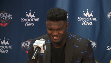Zion Williamson debut Pelicans-Spurs post-game interview