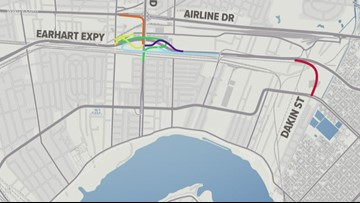 New ramps, interchanges coming to Earhart Expressway