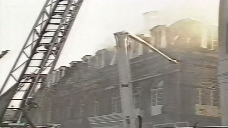After Notre Dame fire, New Orleans remembers Cabildo 1988 blaze