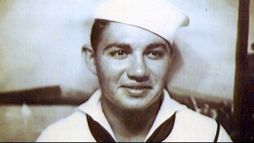 Slidell sailor returns home after almost 80 years