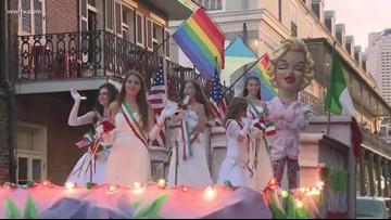 St. Joseph's Day parade rolls through the French Quarter