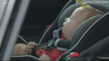 Keeping your child safe in the car this summer