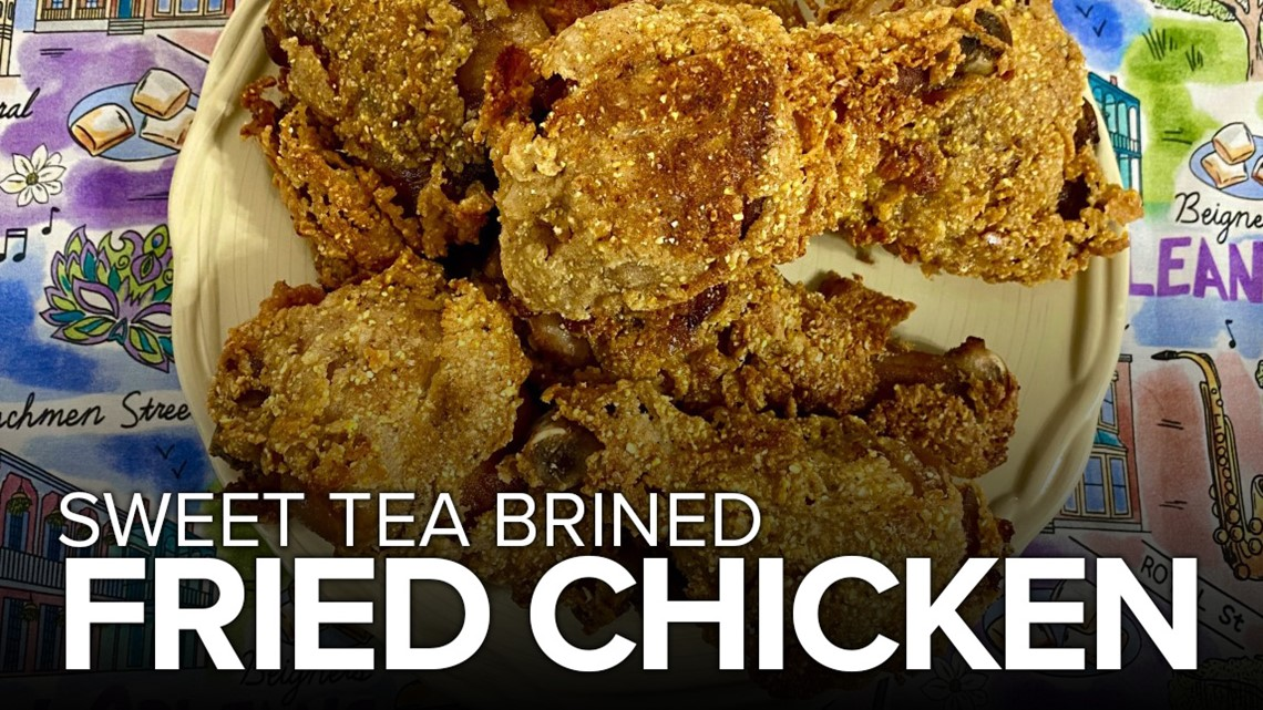 Recipe: Chef Kevin's Sweet Tea Brined Fried Chicken