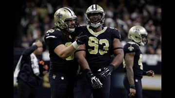 Report: Saints Defensive lineman suspended after drug arrest