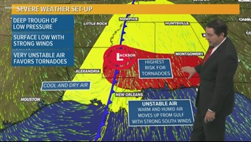 Enhanced severe threat Thursday afternoon and evening
