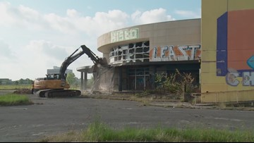 Demolition begins at Grand Theater in New Orleans East