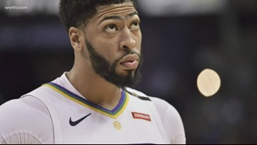 Pelicans fans boo Anthony Davis during return to New Orleans