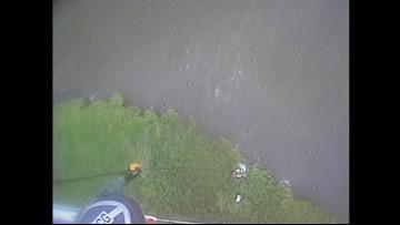 U.S. Coast Guard rescues passenger from crashed seaplane
