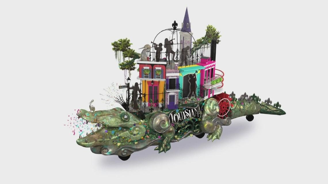 Louisiana's 'Celebration gator' to float in Macy's Thanksgiving Parade