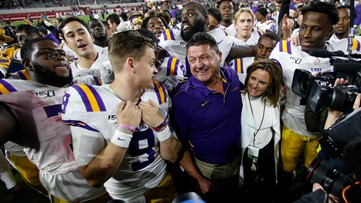 Ed Orgeron's signature win was worth the wait, especially for him
