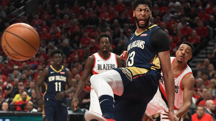 Anthony Davis named finalist for MVP, Defensive Player of the Year