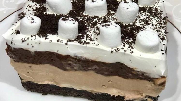 Chef Kevin Belton's Chocolatey lasagna