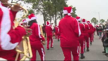Jingle on the Boulevard marches through New Orleans East