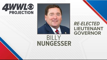 Billy Nungesser re-elected as Louisiana lieutenant governor