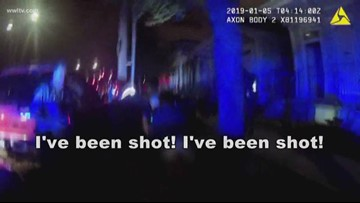 Body camera footage shows suspect open fire on NOPD officers in deadly shootout