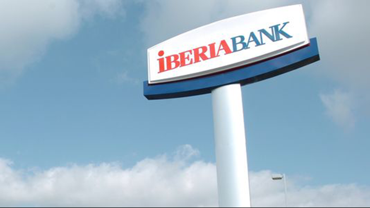 IberiaBank is the largest financial institution headquartered in Louisiana.