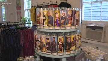 Saints player candles embrace the superstition