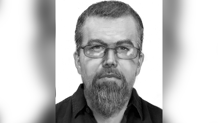 Police say the man was last seen wearing a long sleeve black collared shirt, small framed glasses, dark colored pants and black dress shoes.