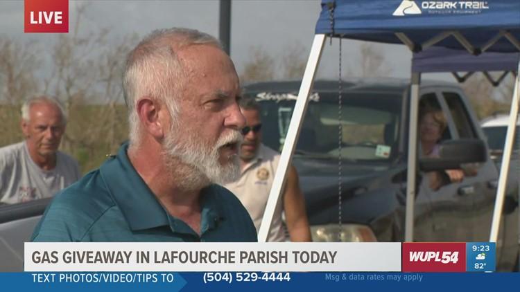 Bayou Community Foundation giving away free gas in Lafourche Parish