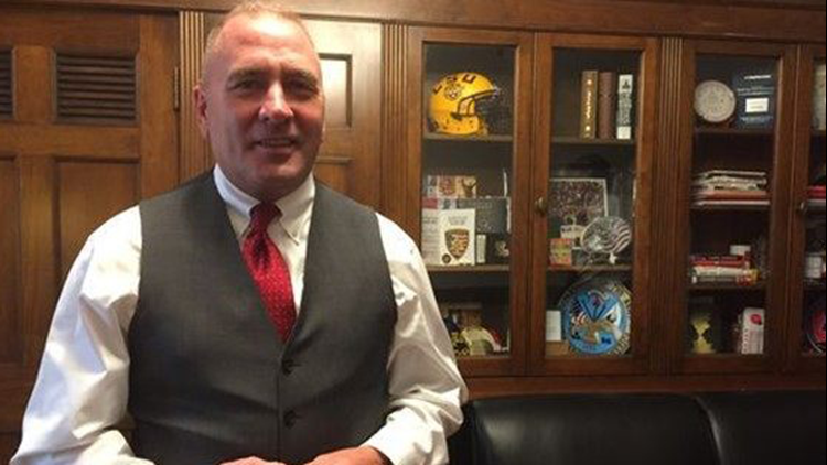 """""""I have observed some behavior that would cause one to wonder,"""" Clay Higgins, joking, said in an interview with USA Today Network."""