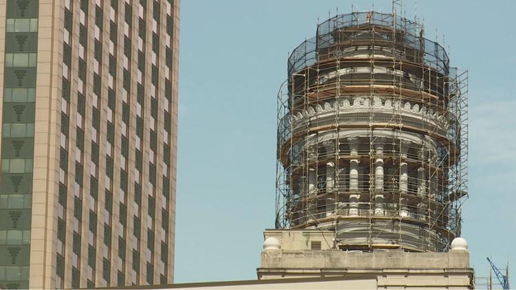 New lights will keep the landmark glowing bright at night