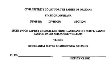 Flood victims file class-action against S&WB