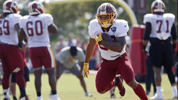 Guice was expected to be the Redskins' starter after they selected him 59th overall in the draft. The LSU product was considered a first-round prospect and went late in the second.