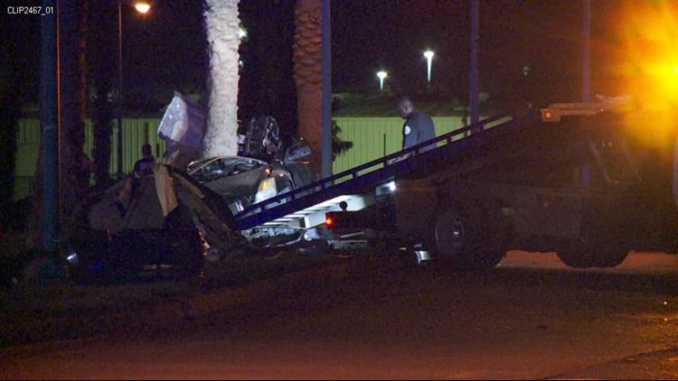 Early Saturday, a woman was killed in a fatal car accident.