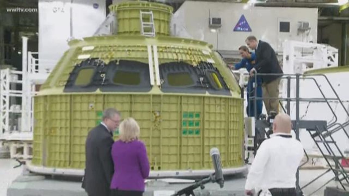 NASA Michoud to build for space program for years to come