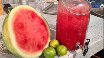 Recipe: Chef Kevin Belton's Watermelon Lime Water