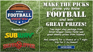Make the picks! Prove you know football to win!