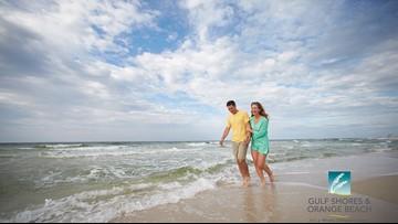 Romance is in the Air at the Alabama Gulf Coast Beach