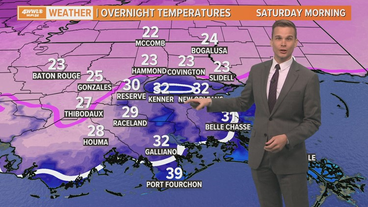 Cool Friday, but sunshine returns; another freeze tonight