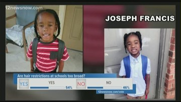 Kindergartner told to cut off braids or he can't go back to Port Arthur charter school