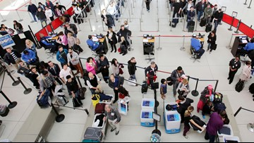 These are the busiest days to fly before and after Christmas
