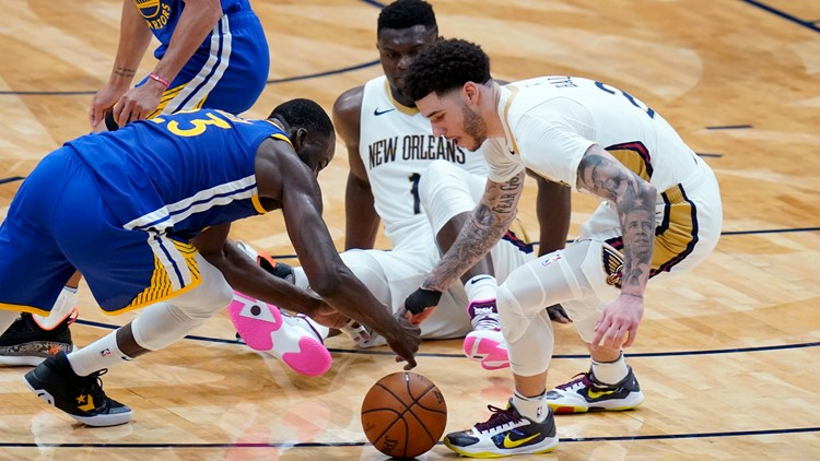Pelicans playoff hopes take a big hit with 123-108 loss to Warriors
