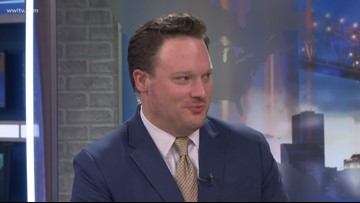Meteorologist Chris Franklin talks about working with Nancy Parker