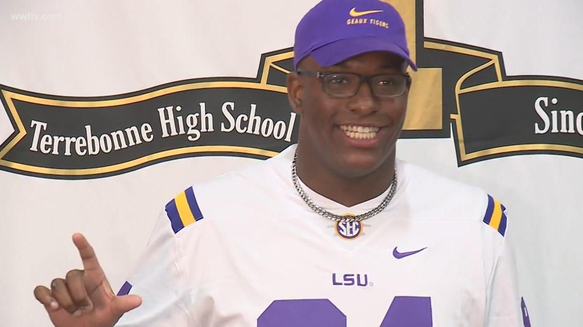 Louisiana's top football recruit chooses LSU over Bama