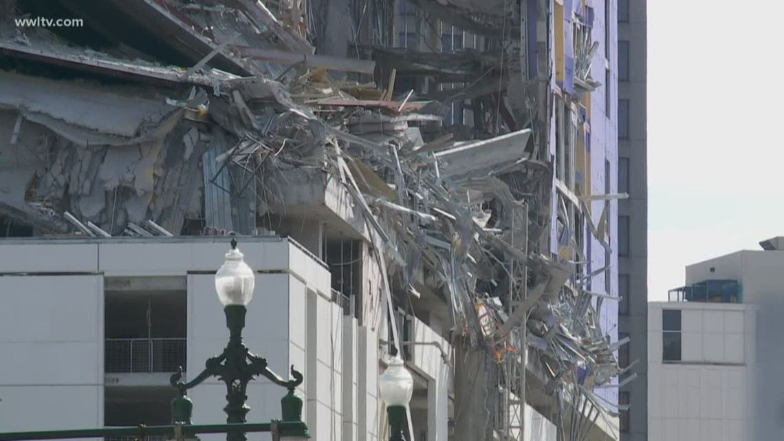Worker saves colleagues from Hard Rock Hotel collapse