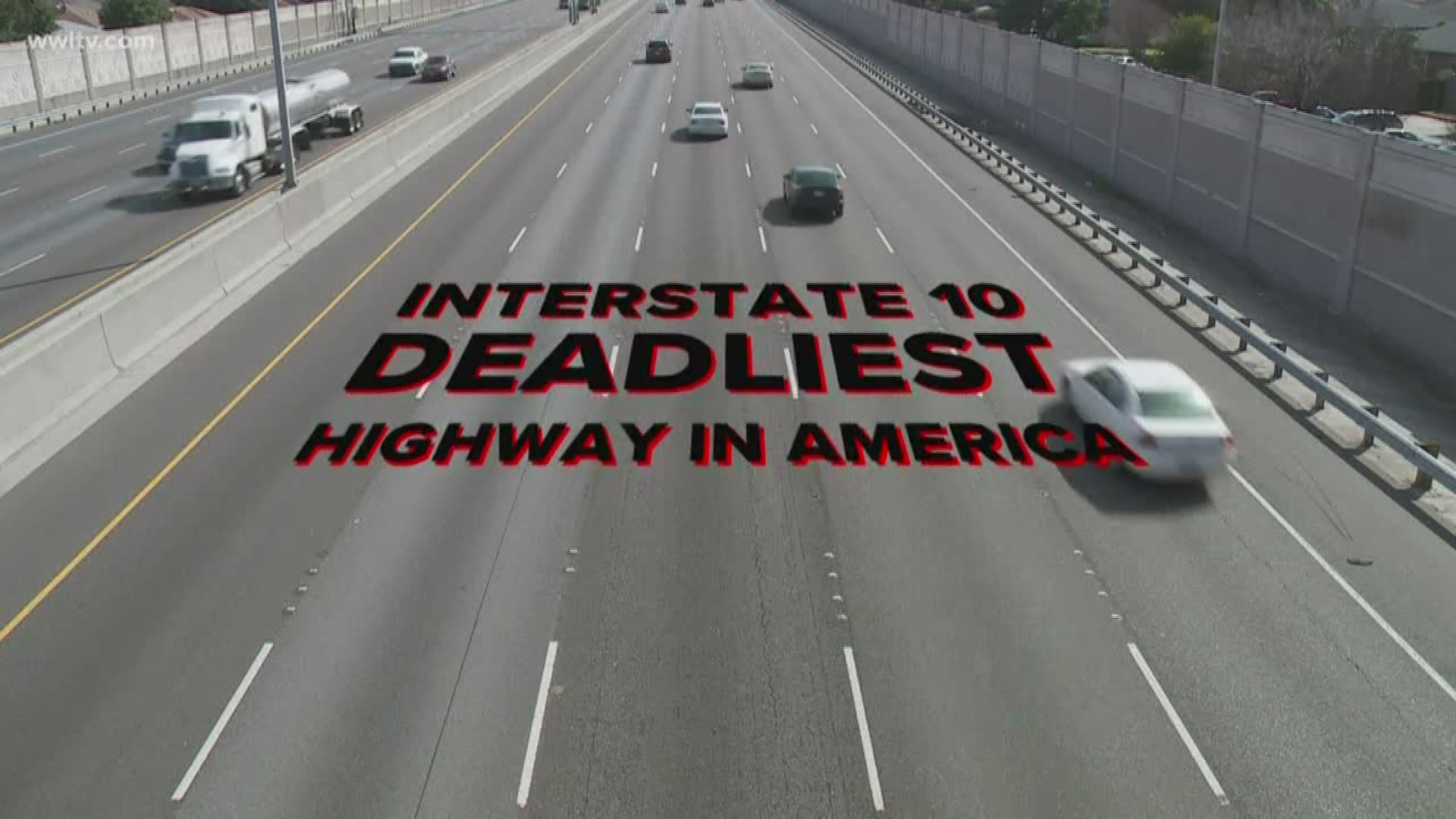 I 10 Most Deadly Highway In U S For Holiday Travel Study Shows
