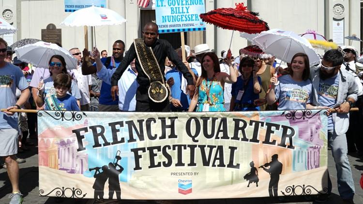 French Quarter Fest cancels over Louisiana COVID surge