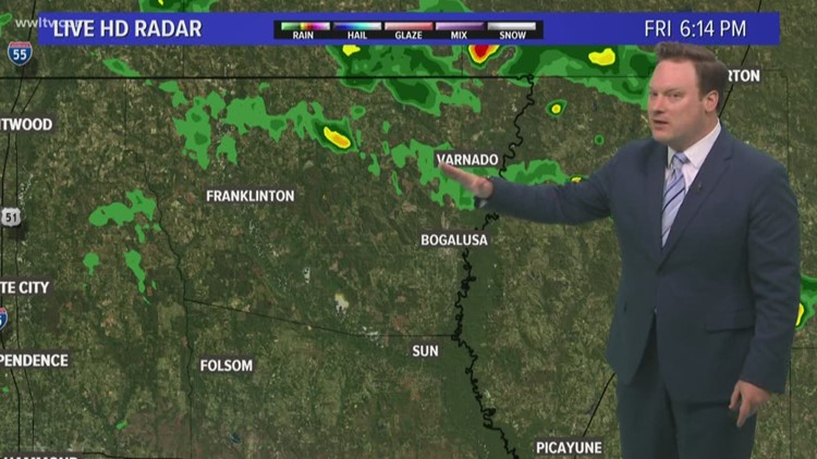Tropics open up for more rain this weekend