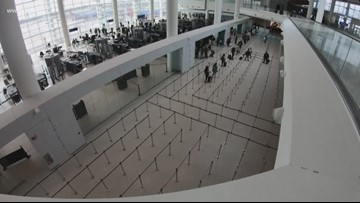No long waits for Thanksgiving travelers at new airport terminal