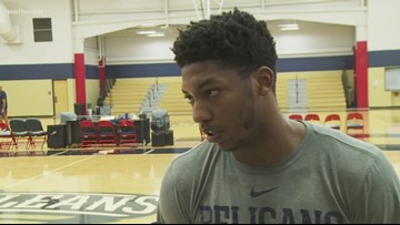 Pelicans guard Elfrid Payton has first full practice since surgery
