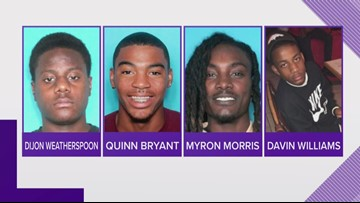2 arrested, 3 at-large in fatal Christmas Eve shooting of New Orleans teenager