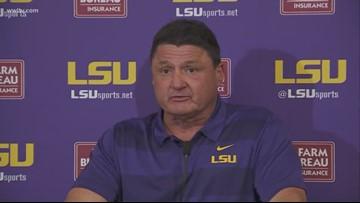 Coach O talks LSU's 29-0 loss to Alabama