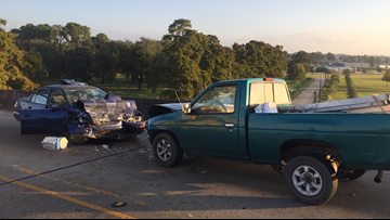 3 seriously hurt after head-on crash on Dularge Overpass in Houma